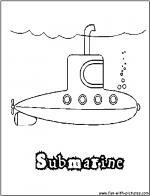 Submarine coloring