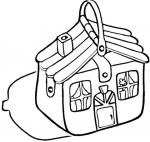 Suitcase coloring