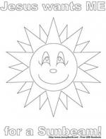 Sunbeam clipart