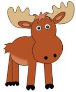 Swedish Moose clipart
