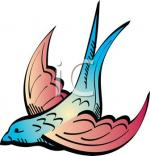 Swooping clipart