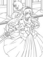 Sword Art Online coloring