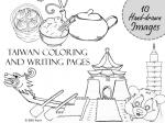 Taiwan coloring