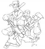 Team Fortress 2 coloring
