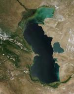The Caspian Sea coloring