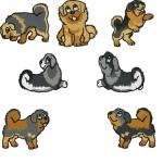 Tibetan Mastiff clipart