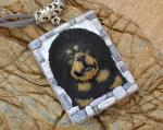 Tibetan Mastiff svg