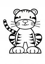 Tigre Bengala coloring