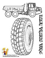 Tire coloring
