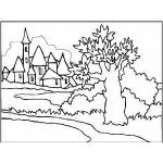 Town coloring