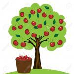 Treetops clipart