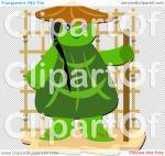 Turtle Monk clipart