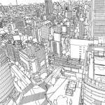 Twilight City coloring