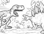Tyrannosaurus Rex coloring