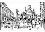 Venice coloring