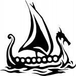 Viking Ship clipart