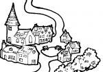 Village clipart