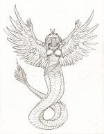 Wadjet (Deity) coloring