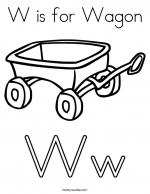 Wagon coloring