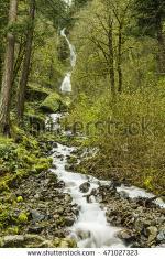 Wakheena Falls clipart