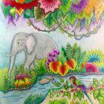 Wasserfall coloring