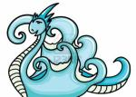 Water Dragon clipart
