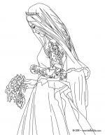 Wedding Dress coloring