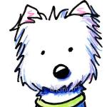 West Highland White Terrier clipart