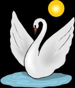 Whooper Swan clipart