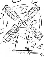 Windmill coloring