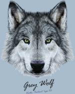 Wolfdog svg