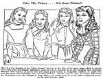Women coloring