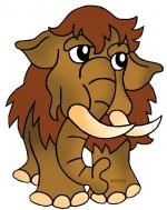 Woolly Mammoth clipart
