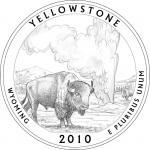 Yellowstone Falls clipart