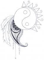 Yin & Yang coloring