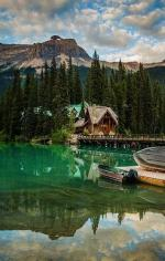 Yoho National Park coloring