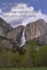 Yosemite Falls clipart