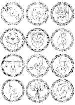 Zodiac coloring