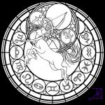 Sagittarius (Astrology) coloring