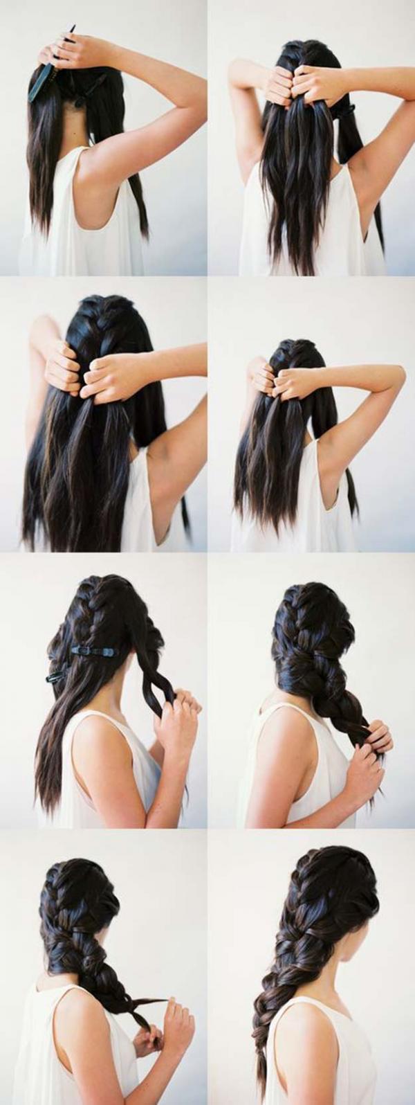 20 DIY Cool Easy Hairstyles