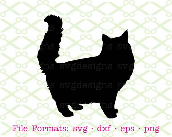 preview Persian Cat svg