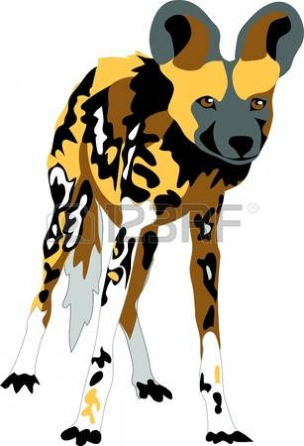 preview Wild Dog clipart