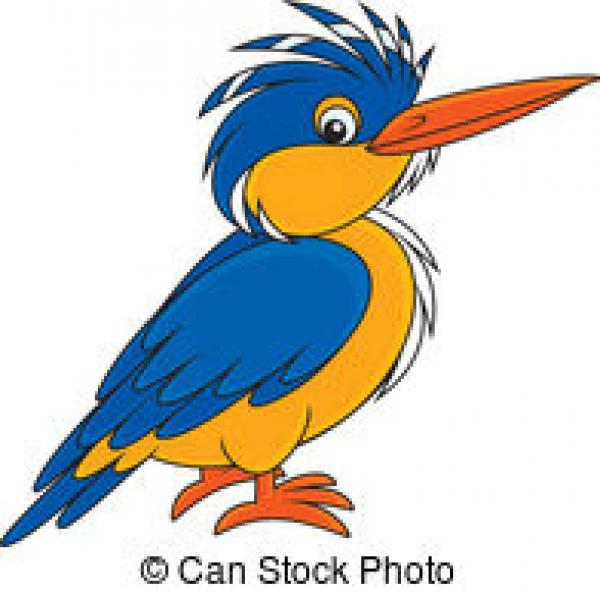 Alcyon clipart