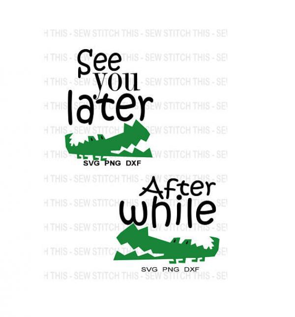 Alligator svg
