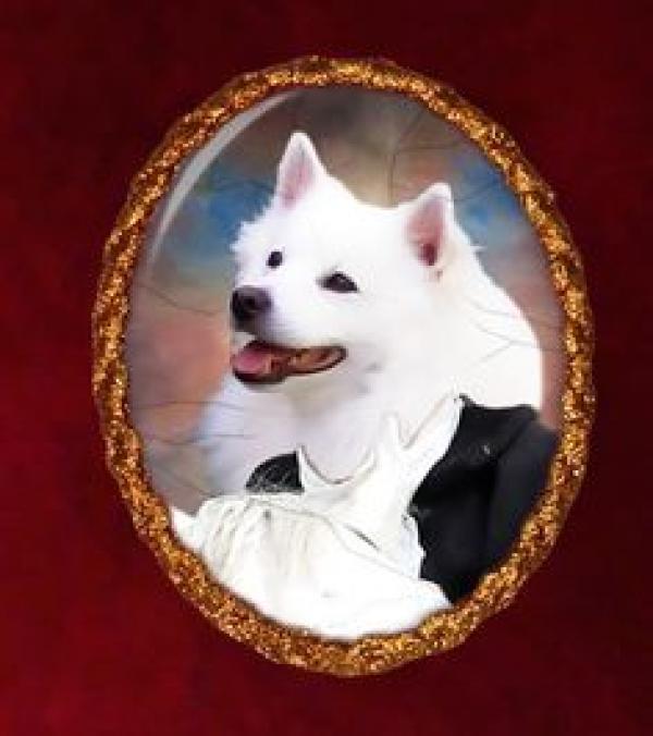 preview American Eskimo Dog svg