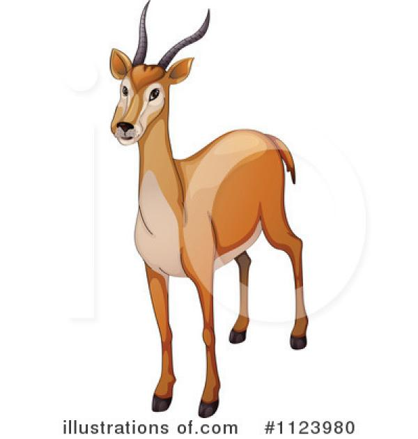 Antelope clipart