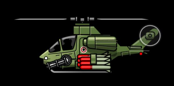 Attack Helicopter clipart