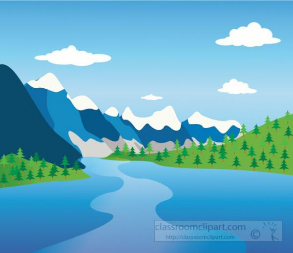 Moraine Lake clipart