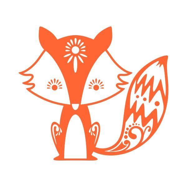Bat-Eared Fox svg