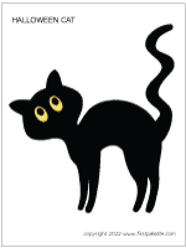 preview Black Cat coloring